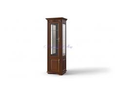 Деревянная витрина 1 створчатая Палермо