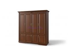 Деревянный шкаф 4 створчатый Палермо дверцы внизу