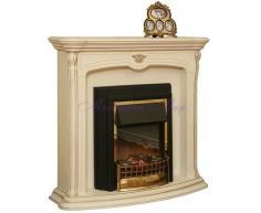 Деревянный портал для камина Алези