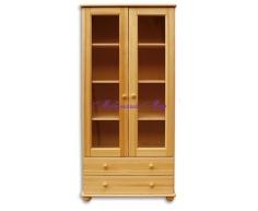 Двустворчатый книжный шкаф Витязь 101