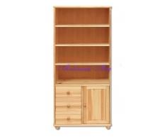 Двустворчатый книжный шкаф Витязь 109