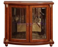 Деревянный комод  Валенсия со стеклом 2 дверки
