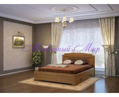 Кровать из бука от производителя Афина тахта