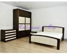 Купить двуспальную кровать Бали со вставкой