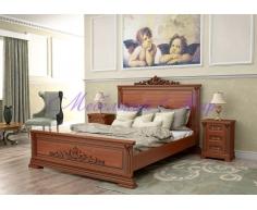 Деревянная кровать Британия