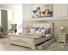 Кровать с ящиками для хранения Британия