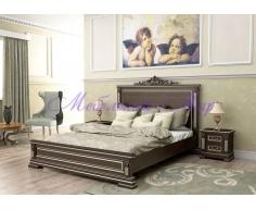 Деревянная кровать Британия тахта