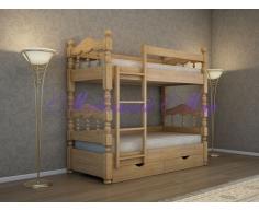 Купить двухъярусную кровать Точенка