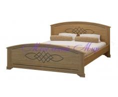 Недорогая односпальная кровать Гера