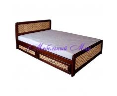 Кровать с ящиками для хранения Классика ткань