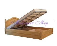 Кровать из массива сосны Лама тахта