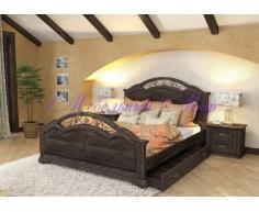 Кровать с элементами ковки Лаура