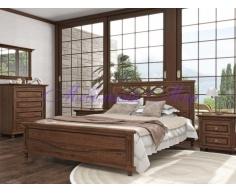 Деревянная кровать Мальта