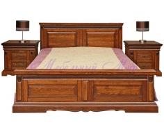 Деревянная кровать Милано Люкс