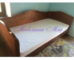 Кровать из массива сосны Муза 3 спинки