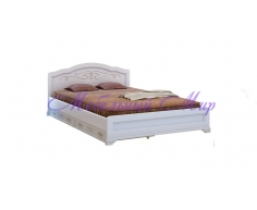 Кровать из массива сосны Муза тахта