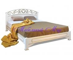 Кровать с элементами ковки Омега