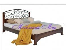 Кровать с элементами ковки Омега 2