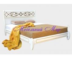 Кровать с элементами ковки Омега 5