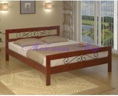 Кровать с элементами ковки Рио