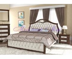 Деревянная кровать Ровелла