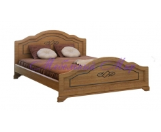Кровать из массива сосны Сатори