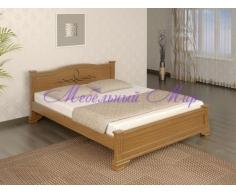 Кровать из бука от производителя Соната тахта