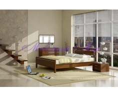 Деревянная кровать Стиль 3А