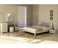 Деревянная кровать Стиль 4А