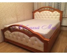 Кровать из массива сосны Венеция