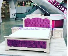 Кровать с элементами ковки Венеция тахта