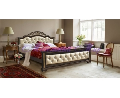 Кровать из массива дуба Венеция тахта