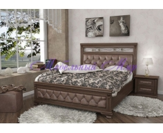 Кровать из массива на заказ  Виттория тахта