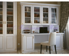 Письменный стол для дома Форкс 2 дверки и стенка