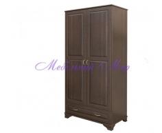 Купить распашной шкаф 2 створчатый Витязь 107