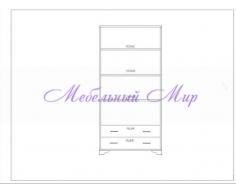 Купить распашной шкаф 2 створчатый Витязь 114