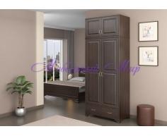 Купить распашной шкаф 2 створчатый Витязь 126