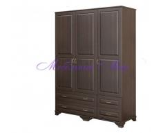Купить распашной шкаф 3 створчатый Витязь 118