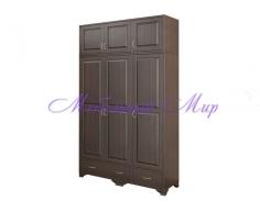 Купить распашной шкаф 3 створчатый Витязь 127