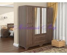 Купить распашной шкаф 4 створчатый Витязь 119