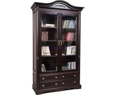 Деревянный книжный шкаф Паола 1