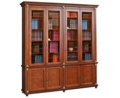Деревянный 4 створчатый книжный шкаф Валенсия