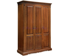 Деревянный 3 створчатый шкаф Милано 2