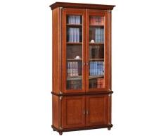 Деревянный 2 створчатый книжный шкаф Валенсия
