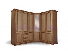 Купить распашной угловой шкаф Лирона 2