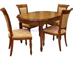 Деревянный обеденный стол Милано 9
