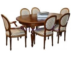 Деревянный обеденный стол Валенсия 2