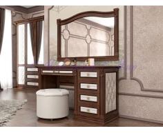 Письменный стол для дома Соната со вставкой