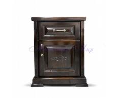 Купить прикроватную тумбу в интернет магазине Дана ящик дверка