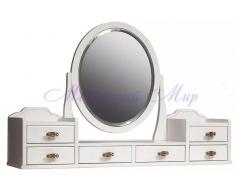 Деревянное зеркало Паола